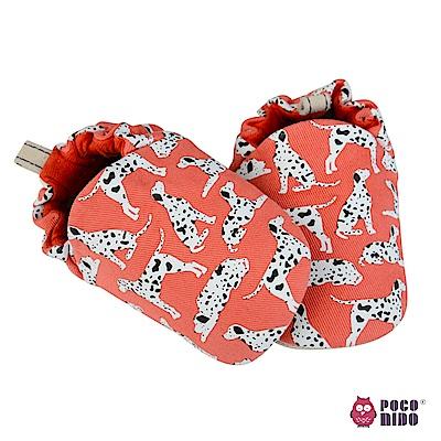 英國 POCONIDO 純手工柔軟嬰兒鞋 (101忠狗)