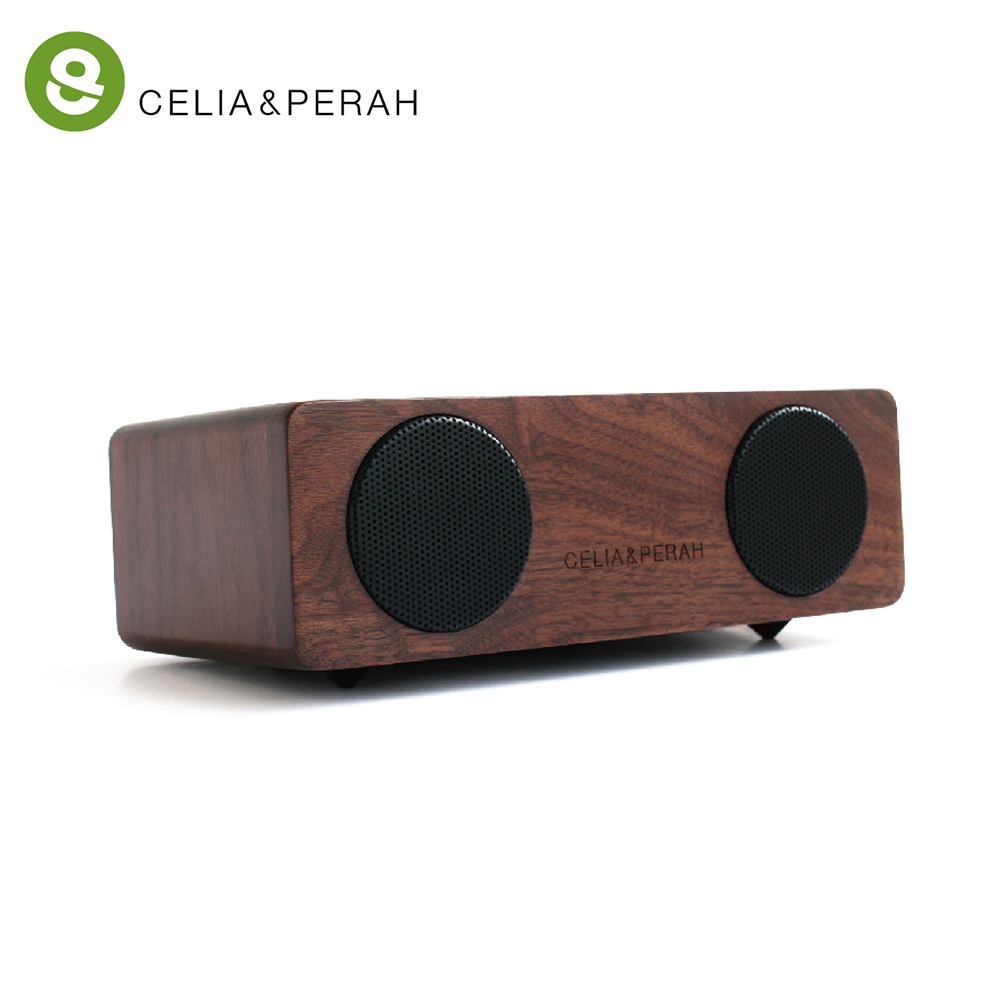 CELIA&PERAH M2 無線藍牙高傳真實木音響 (胡桃木限量款)