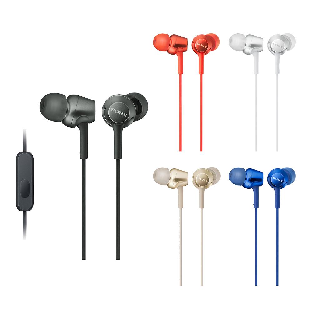 SONY 立體聲入耳式線控耳機 MDR-EX255AP(公司貨)