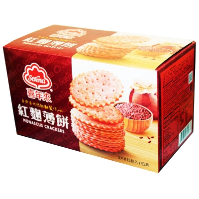 喜年來 紅麴薄餅量販盒(300g)