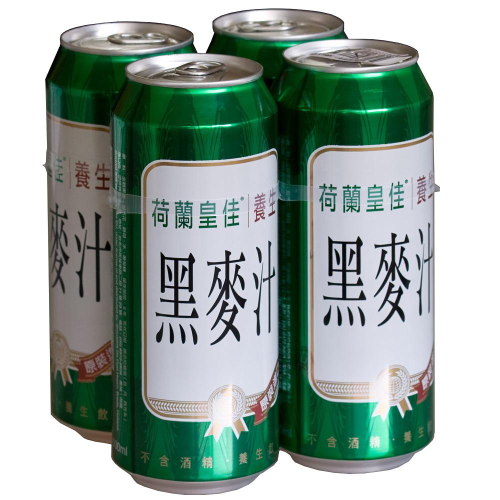 荷蘭皇佳 黑麥汁(500mlx4入)