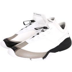 Y-3 FUTURE LOW 抽繩綁帶設計運動鞋(白色)