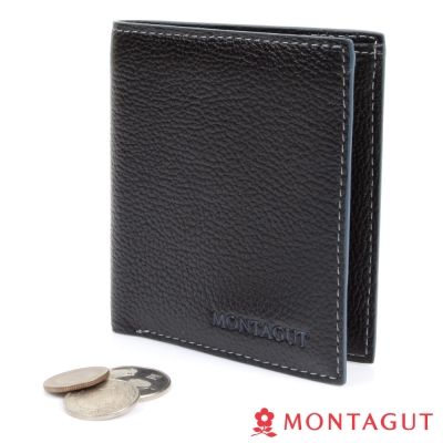MONTAGUT夢特嬌-牛皮短夾