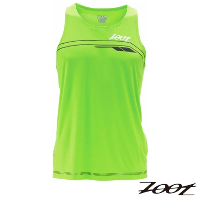 2014 ZOOT頂級冰涼感路跑背心(男-翠綠)Z1404014 路跑 馬拉松