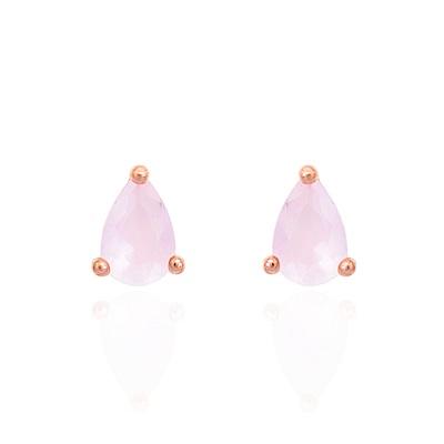 微醺禮物 耳環 正韓 925銀針 銅鍍16K金 閃亮水滴蛋白石 兩色 耳針 耳環
