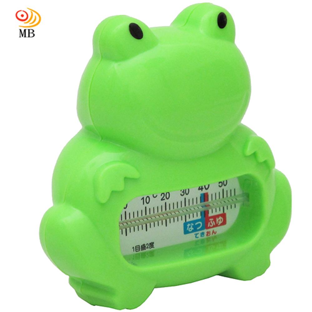 月陽可愛青蛙造型飄浮沐浴無汞水溫計測溫計(KD3082)