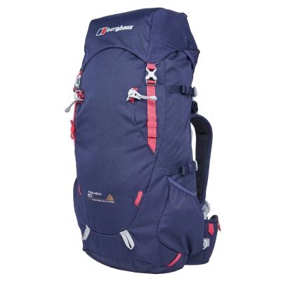 【Berghaus 貝豪斯】女款50LTRAILHEAD登山背包T27F10藍粉