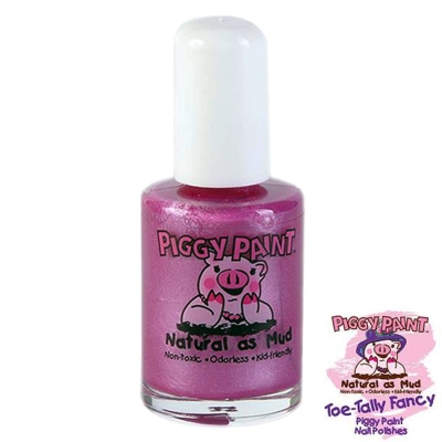 Piggy Paint 天然無毒兒童專用指甲油-星幻炫紫