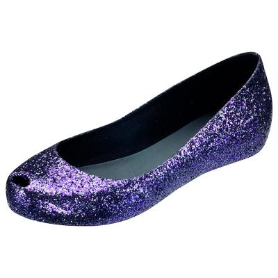 Melissa 絕色星燦魚口鞋-紫晶