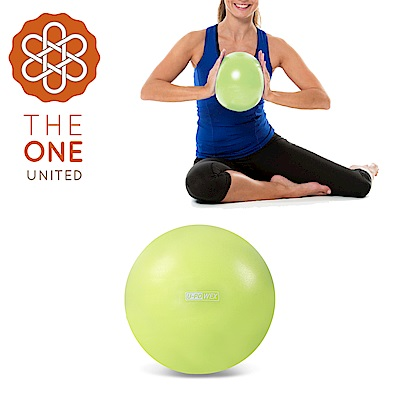 【The One】環保PVC皮拉提斯健身瑜珈球/彈力球(附吹氣管)-20cm綠色