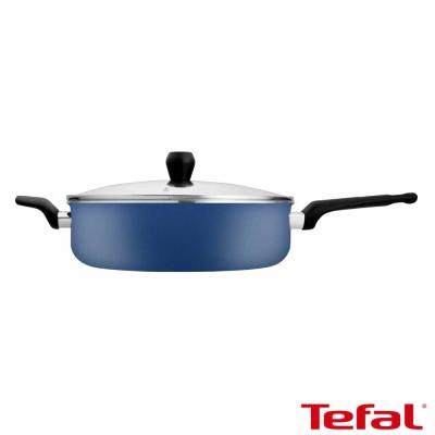 Tefal法國特福 蒙馬特系列28CM不沾深煎鍋 (加蓋) (8H)
