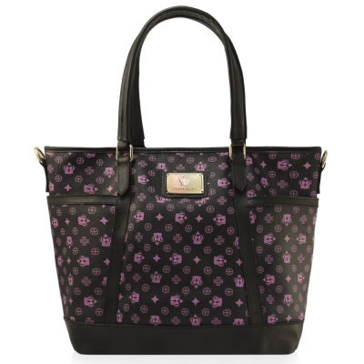 Dennibella 丹妮貝拉-紫色皇冠時尚吊帶包4D115102-7