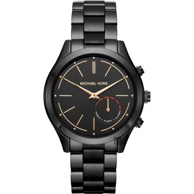 Michael Kors Access Hybrid 指針式智慧腕錶-黑/42mm