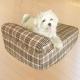 凱蕾絲帝-中小型寵物專用獨立筒彈簧床墊+英倫橘單枕床包-45*60*11CM product thumbnail 1