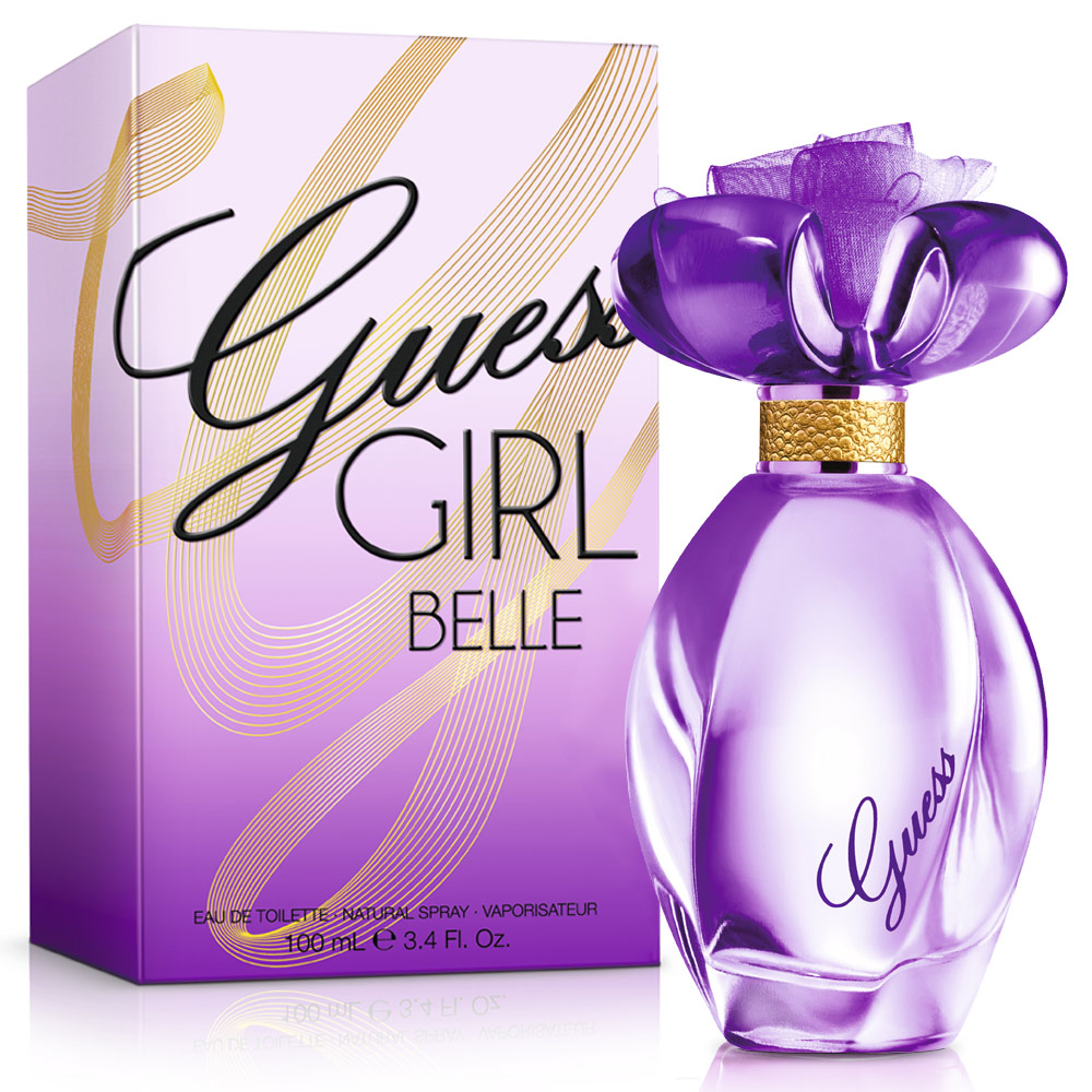 Guess Girl 紫光女郎女性淡香水(100ml)送身體乳