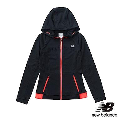 New Balance 慢跑針織外套 AWJ61304BK 女性黑色