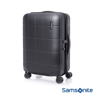 Samsonite新秀麗 20吋Tileum霧面防刮飛機輪硬殼TSA登機箱(霧黑)