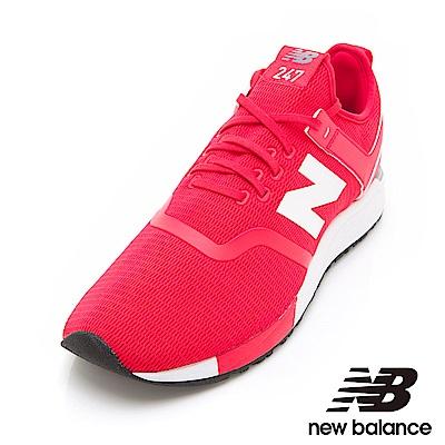 New Balance 247復古鞋 MRL247DI中性紅色