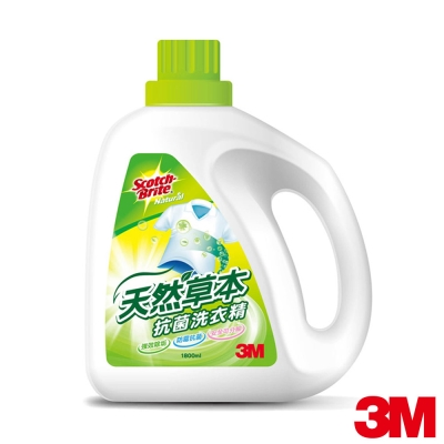 3M 天然草本抗菌洗衣精-1800ml