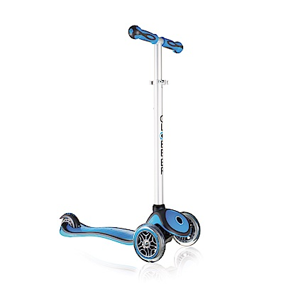 法國GLOBBER哥輪步-2合1兒童滑板車-天空藍色