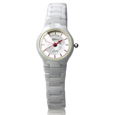 Arseprince 浪漫指南愛心指針女錶-白色