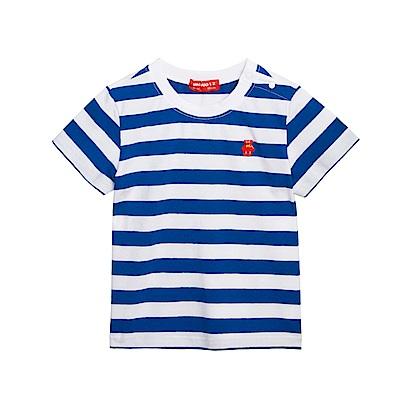 WHY AND 1/2 條紋棉質萊卡T恤-親子裝 1Y~10Y