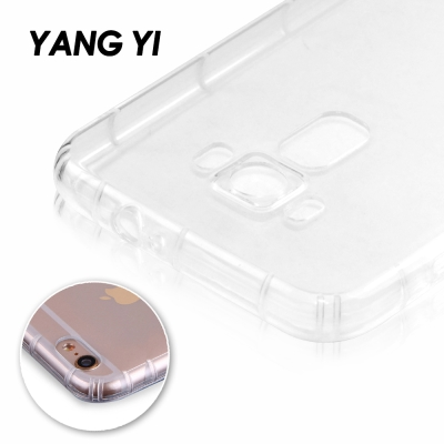 揚邑 ASUS Zenfone 2 Laser 5.5氣囊式防撞耐磨不黏機清透空...