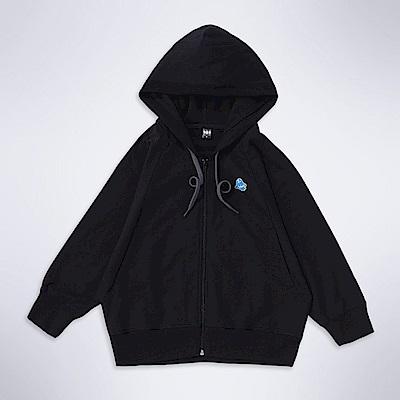 101原創 設計款連帽外套-黑色