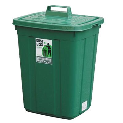 26L中方型資源回收桶(二入)組