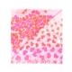 Alviero Martini 義大利地圖 碎片愛心絲巾-粉紅(42X200) product thumbnail 1