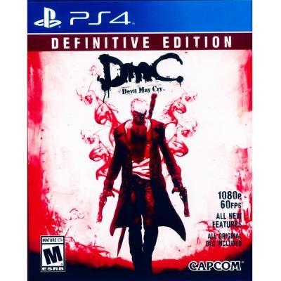 DmC:惡魔獵人 決定版DmC Devil May Cry-PS4 英日文美版