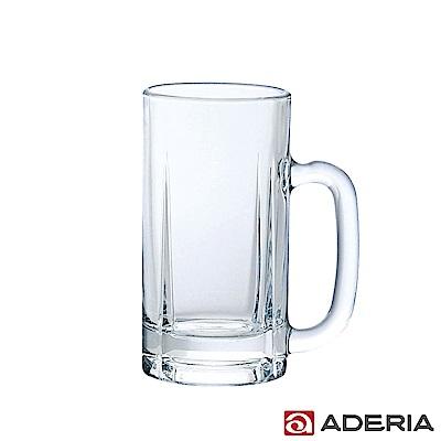 ADERIA 日本進口玻璃啤酒杯 500ml - 適量款