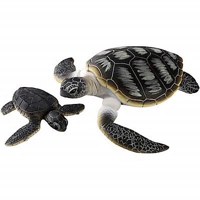 任選TOMICAAS20 海龜(附小海龜) AN80364 多美動物園