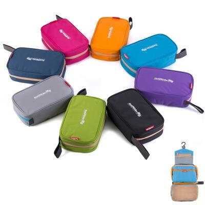 PUSH! 旅遊用品防水防撕裂盥洗用具包便攜出差洗簌牙刷包(升級款)S42藏藍色