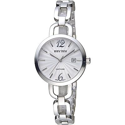 日本麗聲錶RHYTHM浪漫縷空手鍊錶(LE1606S01)-30mm