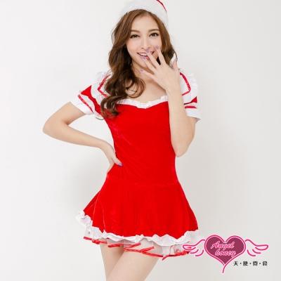 耶誕服 華麗公主狂熱聖誕舞會角色服(紅F) AngelHoney天使霓裳