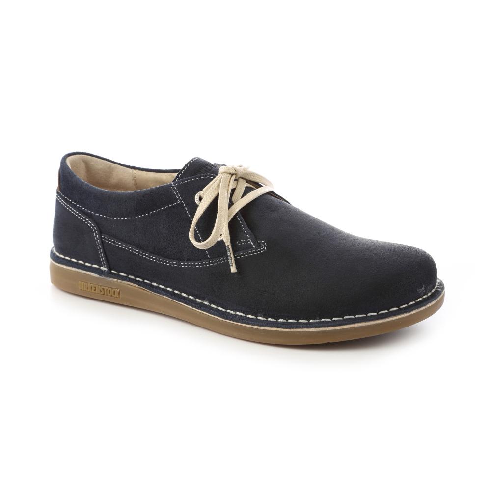 勃肯BIRKENSTOCK 406531。曼非斯 休閒鞋(深藍)
