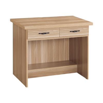 Boden-東尼2.7尺二抽書桌/工作桌(兩色可選)-81x59x74cm