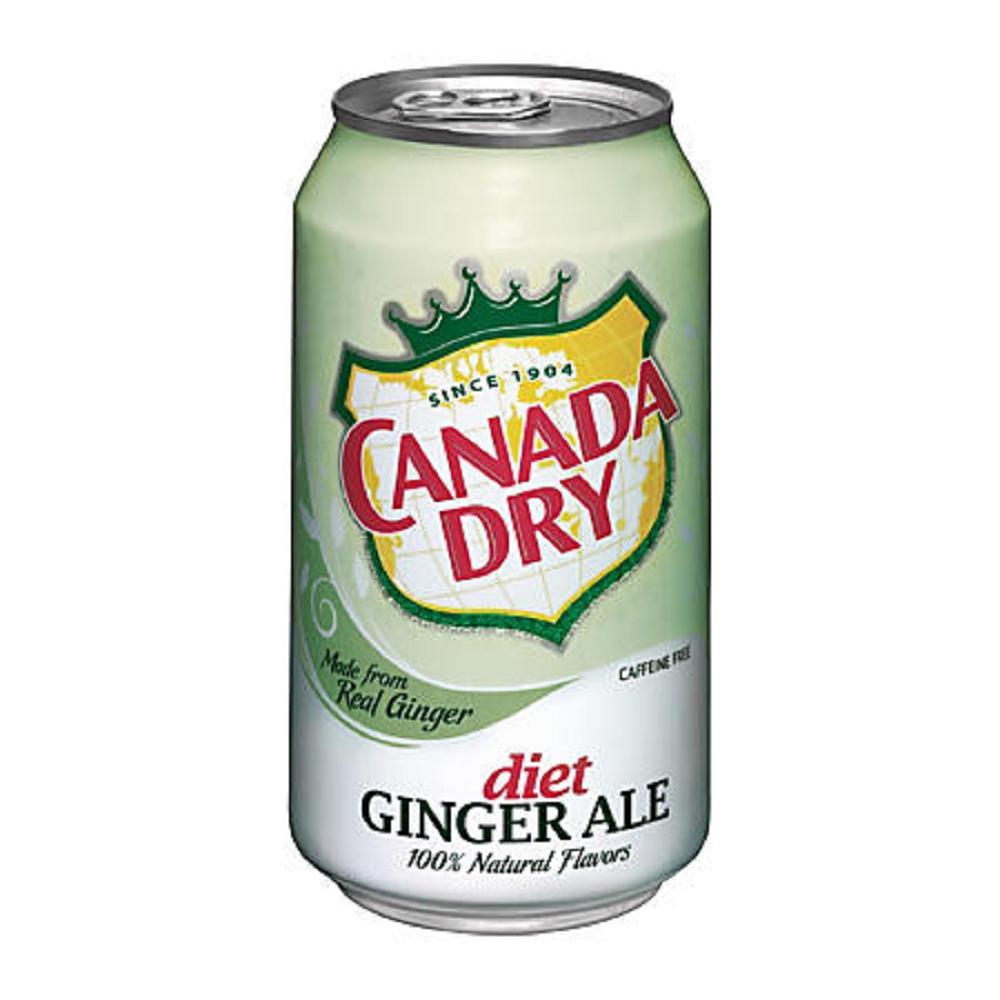 CANADA DRY diet薑汁風味汽水(355mlx12瓶)