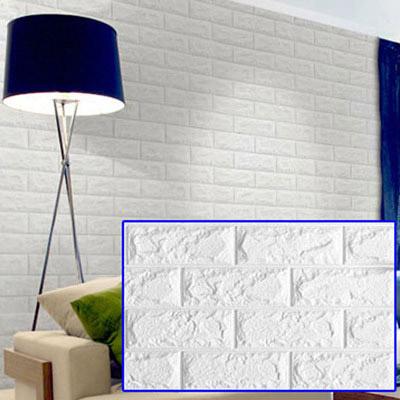 3D立體泡棉磚紋壁貼任選10片