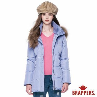 BRAPPERS-女款-女用長版羽絨外套-淺紫