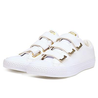 CONVERSE-女休閒鞋559905C-白