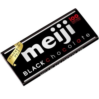 明治 代可可脂黑巧克力-片裝(50g)