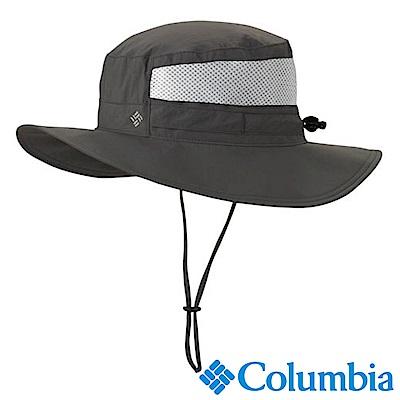 Columbia哥倫比亞 男女-UPF50遮陽帽-灰棕色  UCU91070BI /