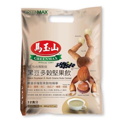 馬玉山 黑豆多穀堅果飲(30gx12入)