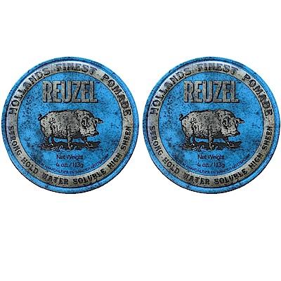 REUZEL 藍豬 水洗式髮油113g (2入)