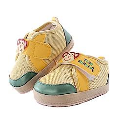 俏皮猴魔鬼貼止滑寶寶鞋 黃 sk0287 魔法Baby