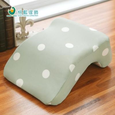 格藍傢飾 水玉涼感舒壓午睡枕-抹茶綠
