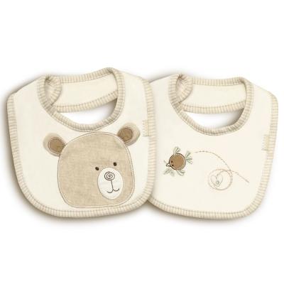 英國「Natures Purest」天然有機棉-兩件裝圍兜(MHHM0071890)