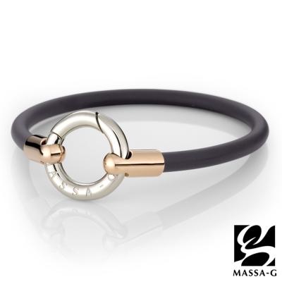 DECO X MASSA-G 魅力經典鍺鈦能量腳環-玫瑰金